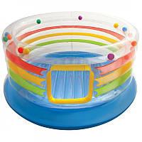 Надувной игровой центр-батут для детей до 6 лет Intex Интекс