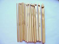 Набор бамбуковых крючков для вязания