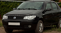 Дефлектор капота (мухобойка) Fiat Albea  2007-