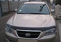 Дефлектор капота (мухобойка) HYUNDAI Sonata NF 2005-2009
