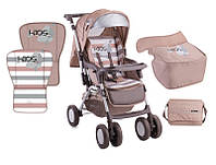 Прогулочная коляска Bertoni COMBI Beige Kids + сумка