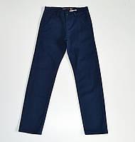 Стильные котоновые брючки для мальчиков 116-140