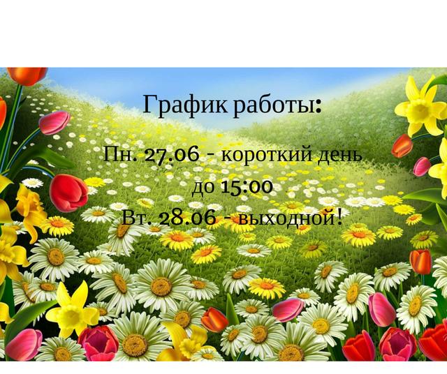 График работы интернет магазина Nikka на праздничные дни.