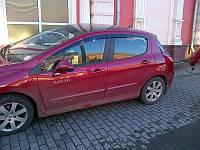 Дефлекторы окон (ветровики) PEUGEOT 308 Hb 5d 2008