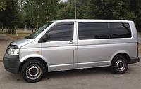 Дефлекторы окон (ветровики) VW T5 2003 - (накладные 2шт)