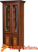 Витрина Верона/Verona 2-х дверная корень ореха (Скай ТМ)