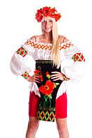 Маки женский национальный украинский костюм