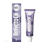 RefectoCil №5 Violet - краска для бровей и ресниц (фиолетовая), 15мл