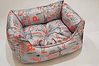 AnimAll  Foxy диван -лежак для собачек (40*27*18см) (53701)