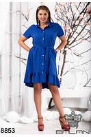 платье летнее с воланом (48-50), доставка по Украине