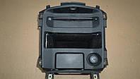 Центральная консоль, CD проигрыватель, пепельница, прикуриватель для Nissan Primera P12 универсал, 2004 г.в.