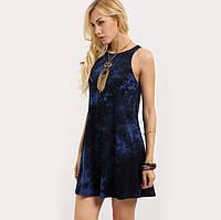 Короткое платье без рукавов от Sheinside.