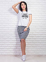 Комплект футболка +юбка № 1577 (В.И.К.)