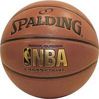 Баскетбольный мяч Spalding NBA Cross Court Official