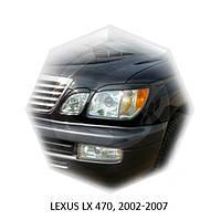 Реснички на фары Lexus LX 470, 2002-2007 г.в. Лексус 470