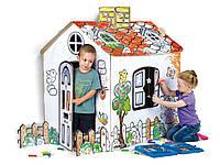 Домик - раскраска детский игровой Feber PAINT YOUR HOUSE