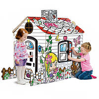 Домик - раскраска детский игровой Feber PAINT YOUR HOUSE PINYPON