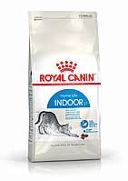 Акция! Royal Canin INDOOR 27 2 кг +3 консервы Royal Canin Ultra Light  В ПОДАРОК!