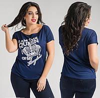 Женская   футболка для полных девушек