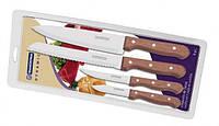 Набор кухонных ножей Tramontina 4шт.