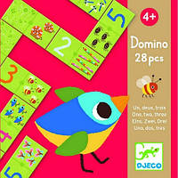 Игра-детское домино Djeco Раз Два Три