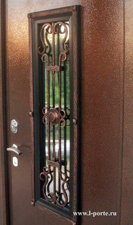 Стальные двери Stalker любых модификаций могут оснащаться коваными декоративными решётками.  Решётки могут быть с...