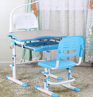 Детский стол и стул Evo-04 + лампа и подставка (3 цвета)