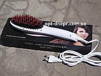 Расческа-выпрямитель FAST HAIR STRAIGHTENER HQT-906