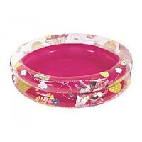 Надувной бассейн для самых маленьких с надувными бортиками от 1 года Mickey Mouse Bestway