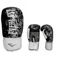 Перчатки боксерские  Everlast BO-4227-BK, кожа