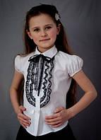 Блузка школьная для девочки 2057к