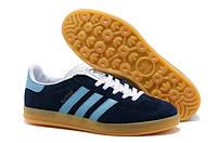 Кроссовки Adidas Gazelle Indoor (Navy Blue)