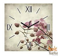 """Красивые настенные часы """"Сакура"""""""