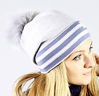 Классическая шапочка мелкой вязки, фото 1