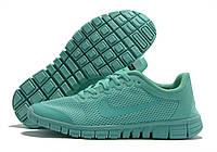 Nike Free Run 3.0 легкие,летние кроссовки для бега цвета мяты