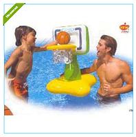 Игра Баскетбол на воде 66-56-81 см надувное баскетбольное кольцо и мяч