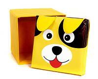 """Детский пуф 3 в 1 (корзина, ящик для игрушек) """"Собака"""" 40*40*40 см"""