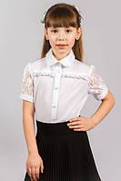 Блуза школьная для девочки 131 ТМ Малена