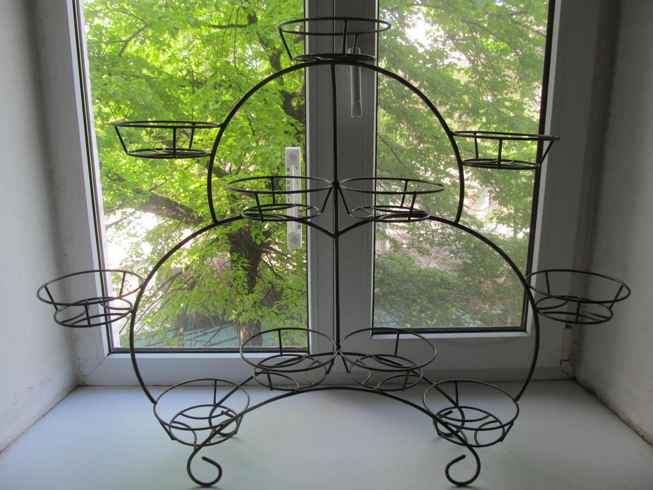 Подставки для цветов на подоконник Условия для выращивания цветов на окне 15