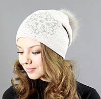 Оригинальная зимняя шапка