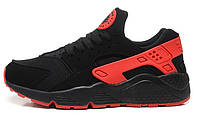 Кроссовки Nike Air Huarache Black/Red - 1380
