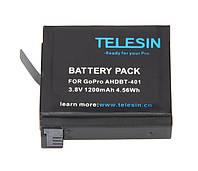 Аккумулятор для GoPro Hero 4 AHDBT-401 Telesin 1200 mAh