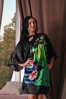 Шелковое кимоно женское  для дома