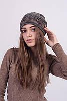 Вязаная зимняя шапка, фото 1