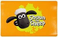 """Shaun the Sheep"" Коврик под миски ""Shaun"" оранжевый 44*28см"