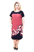Платье на лето Сакура маки розовый