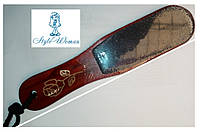 Терка для ног наждачная CLC с деревянной ручкой
