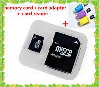Карта памяти MicroSD 8 гб 4 class+SD переходник!