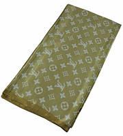 Женский платок Louis Vuitton 25249 золотой