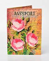 "Обложка на загранпаспорт ""Розы"""